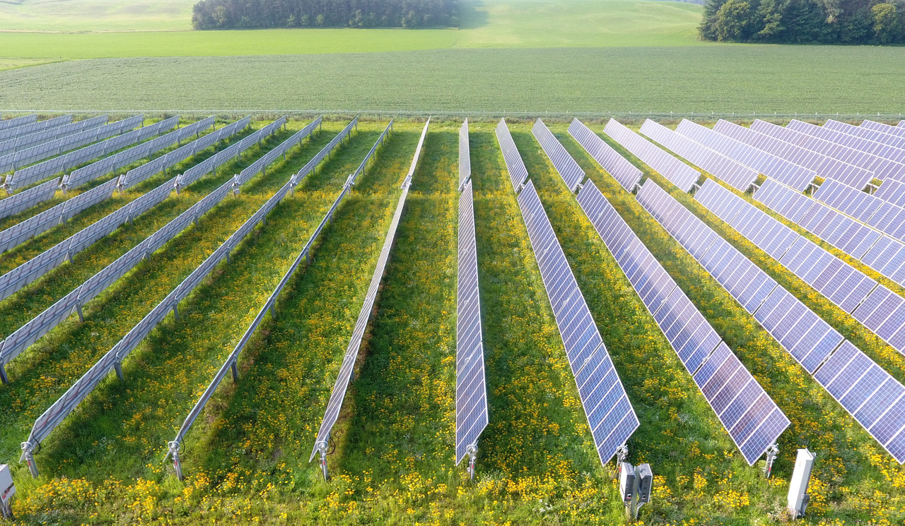 Downsville, Wisconsin Dairyland solar farm