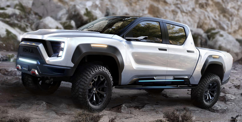 Nikola Motors electric pickup truck the Badger