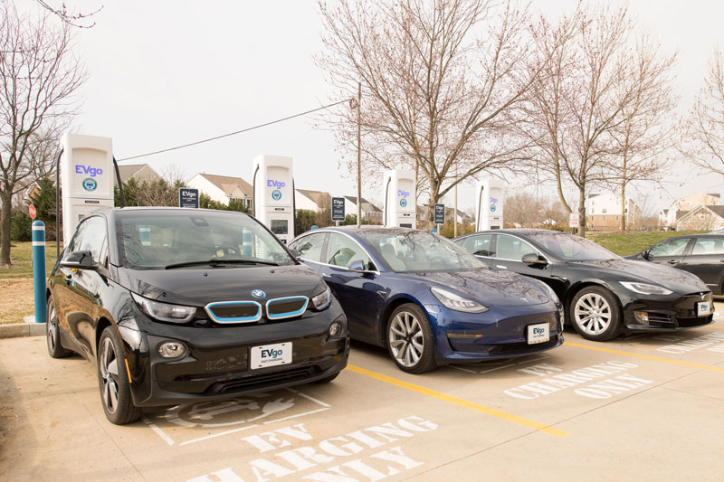 EVgo reaches 800 locations for fast chargers