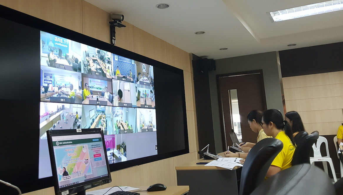 Thailand disaster response control center