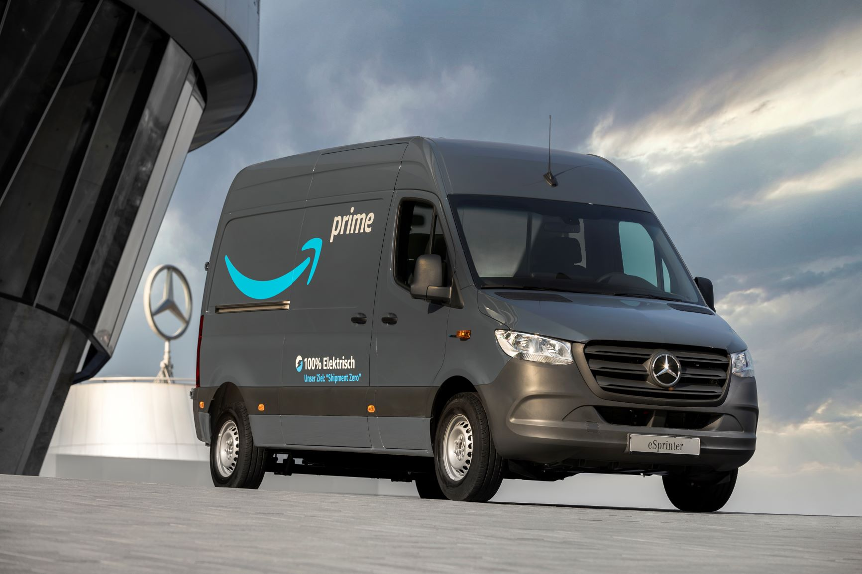 Mercedes-Benz electric delivery van