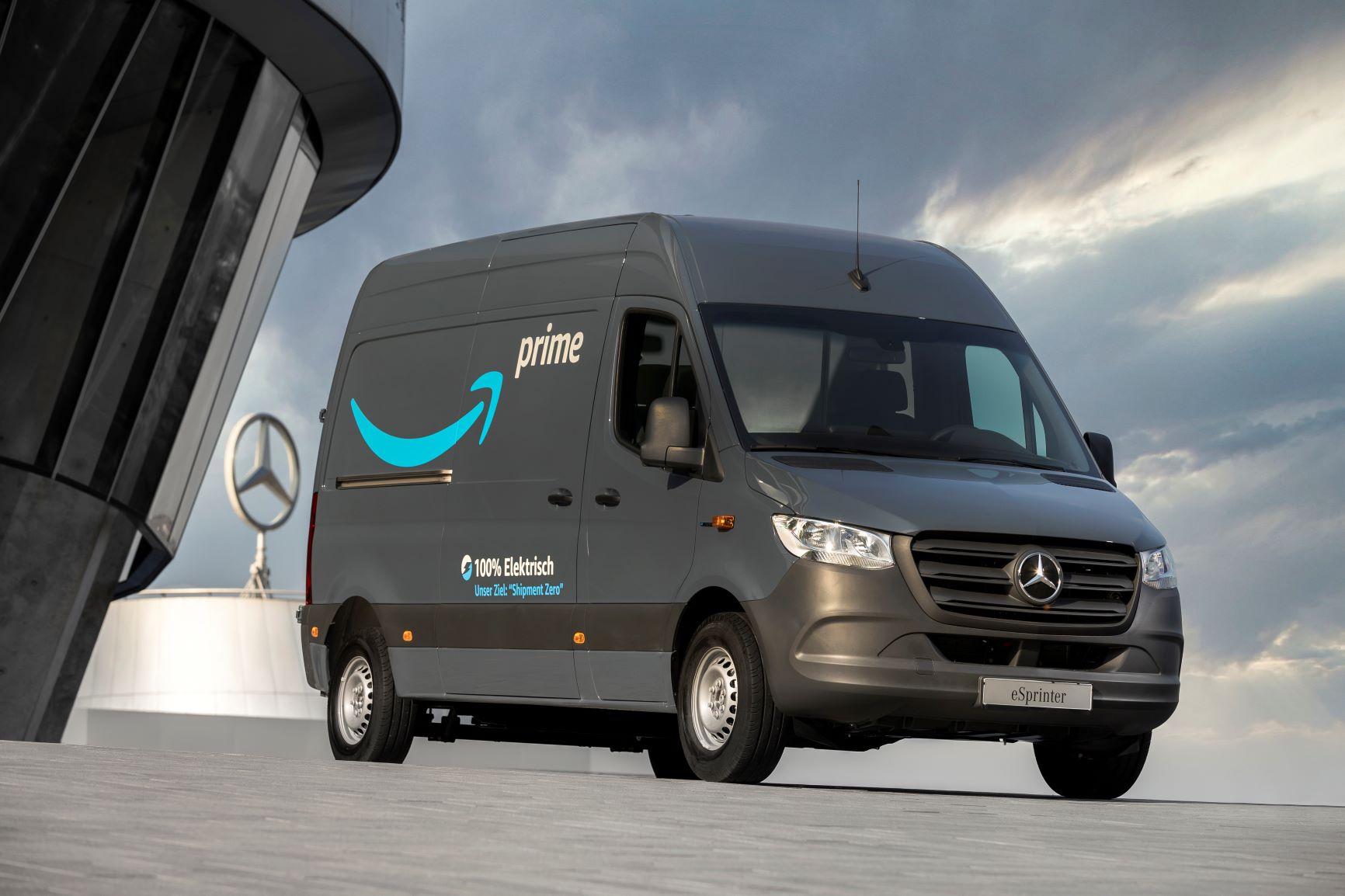 Mercedes-Benz electric delivery van