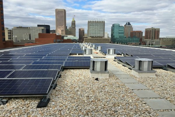 Sol's 196-kilowatt solar installation at Christ Church apartments, a low-to-moderate income senior living facility
