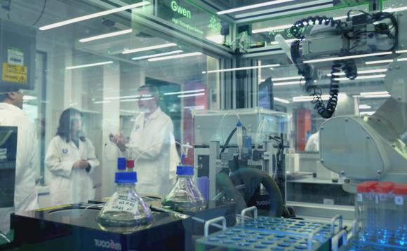 University of Liverpool materials innovation laboratory