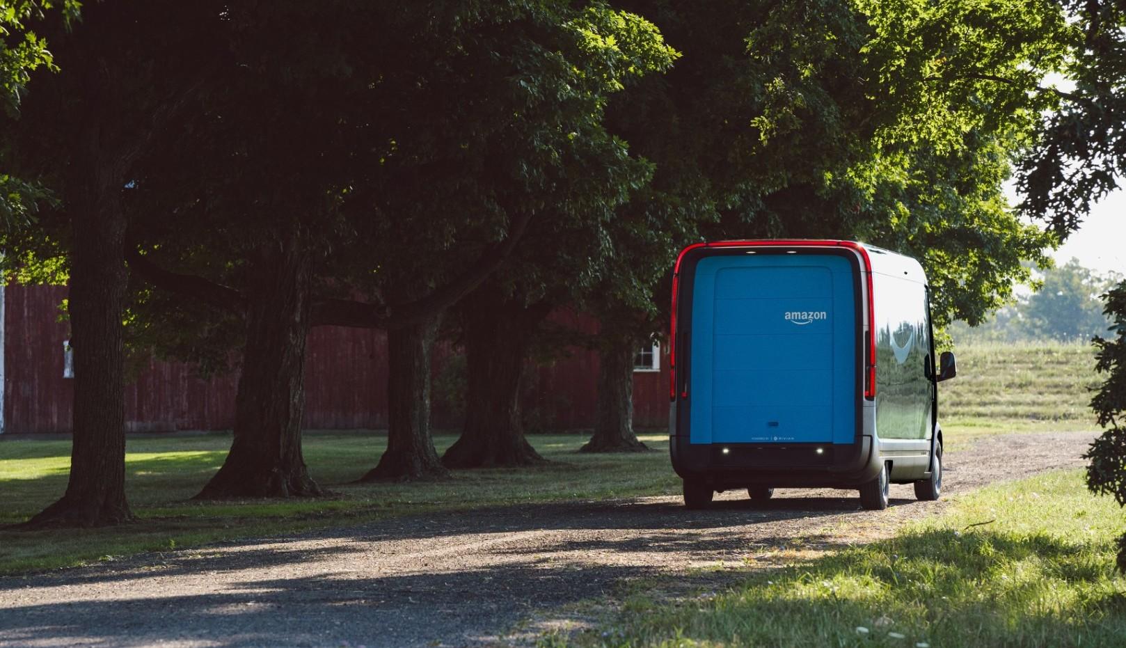 Amazon Rivian custom electric van backend