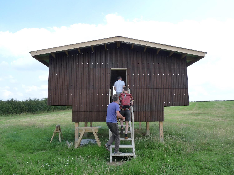 Hempcrete farmhouse