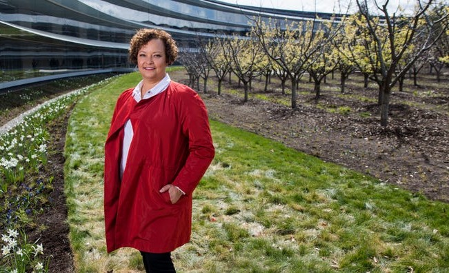 Apple Vice President, Environment, Policy and Social Initiatives Lisa Jackson.