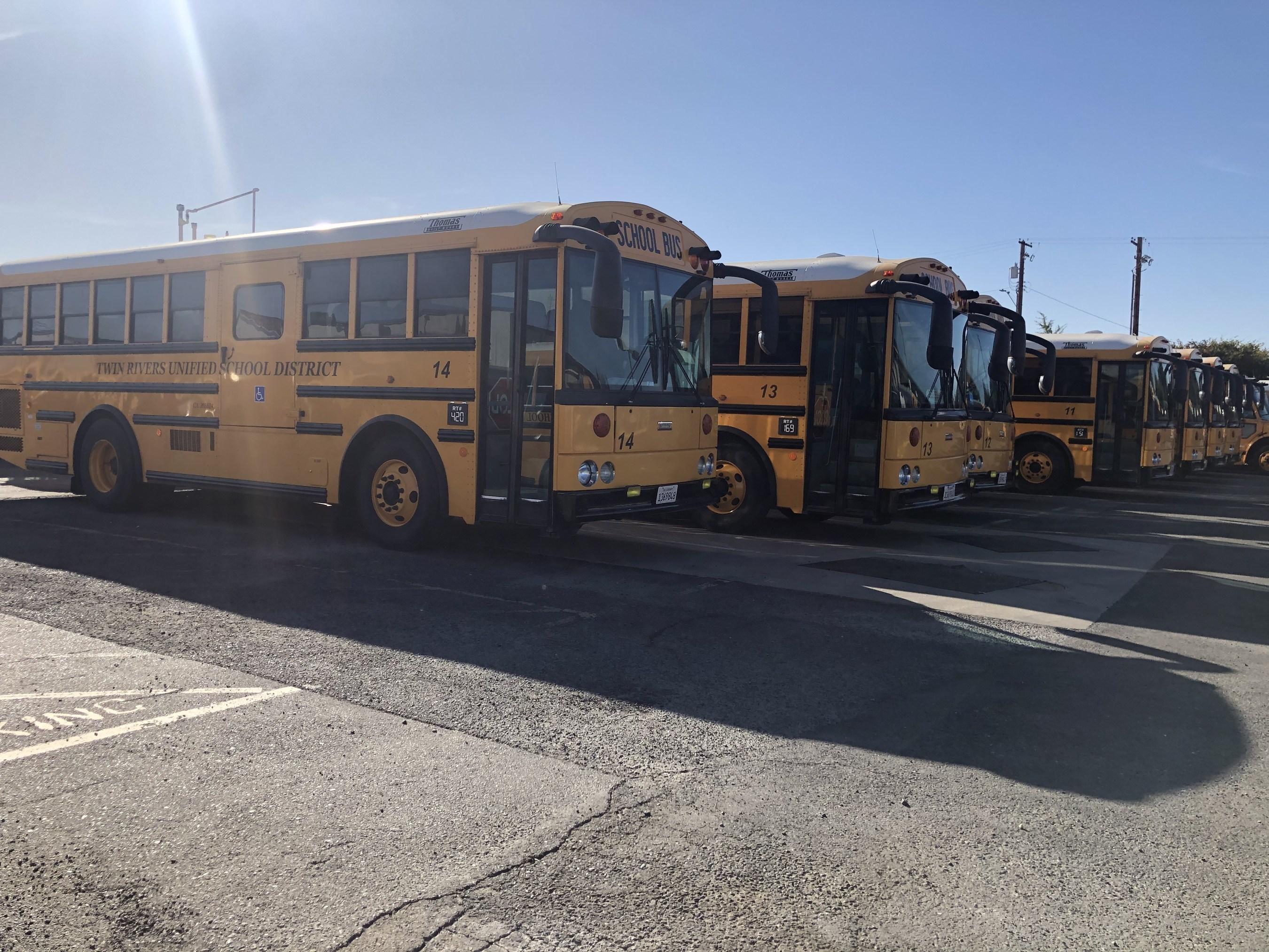Twin Rivers school buses running on renewable diesel
