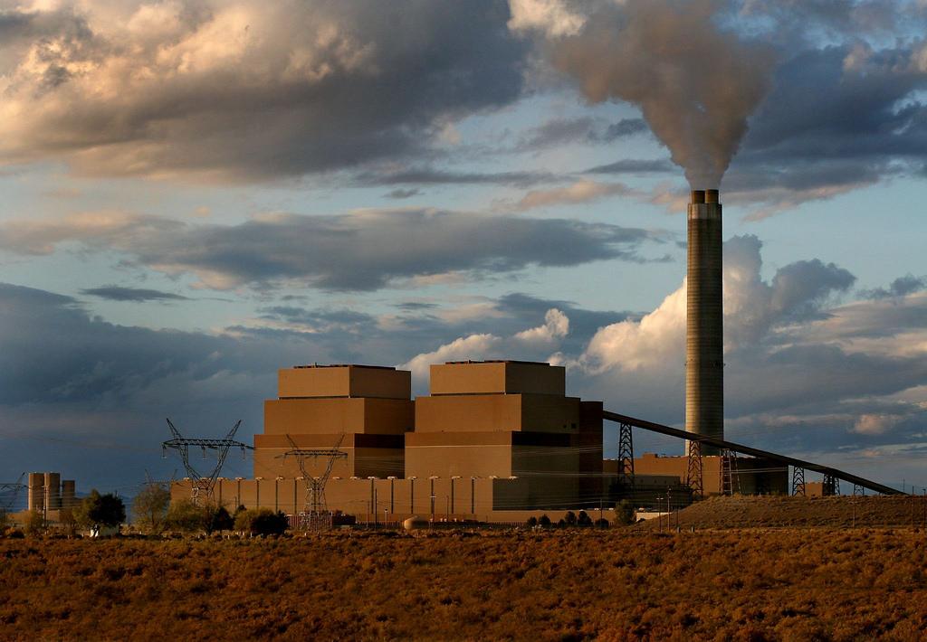 Coal plant image