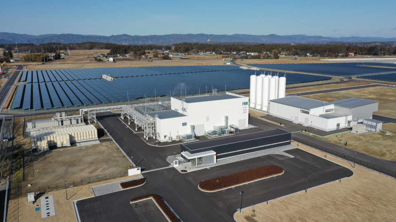 The Fukushima Hydrogen Energy Research Field (FH2R), a green hydrogen facility that can generate as much as 1,200 normal meter cubed (Nm3) of hydrogen per hour, opened in Japan in March.