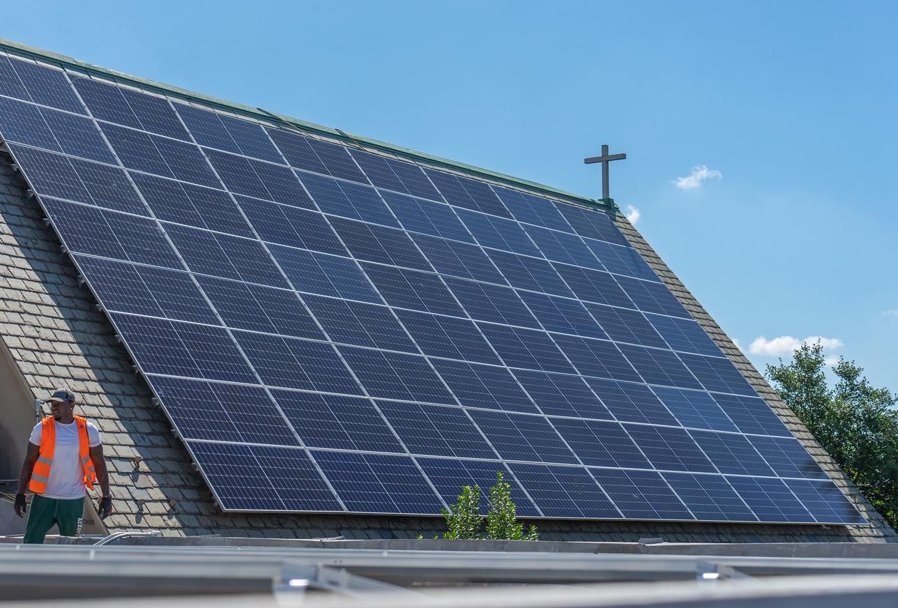 A 55-kilowatt solar project was energized at St. Luke Baptist Church in Washington, D.C.