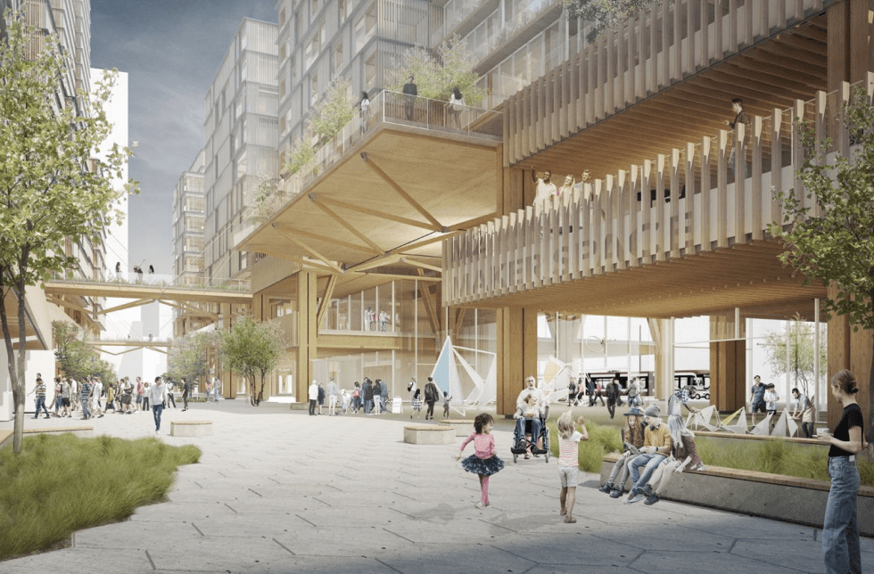 Sidewalk Labs mass timber