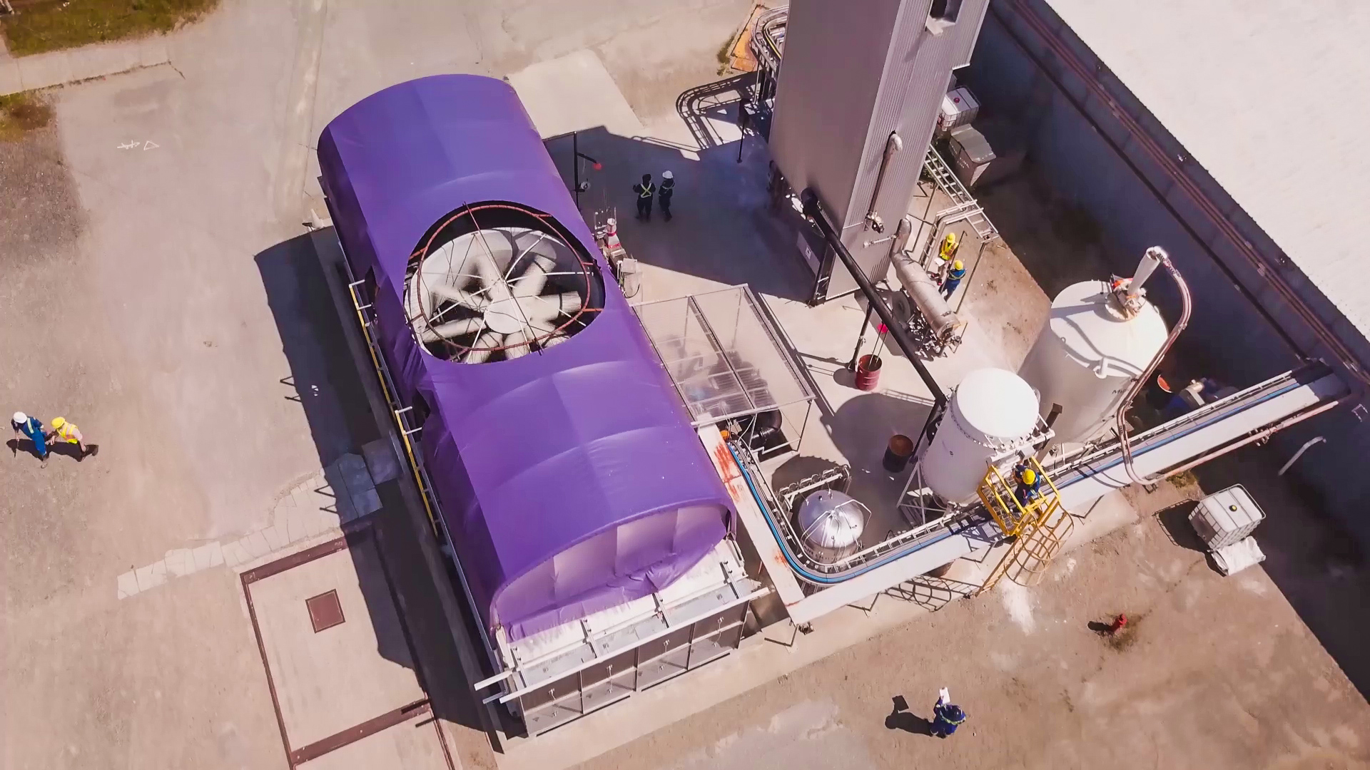 Carbon Engineering pilot plant