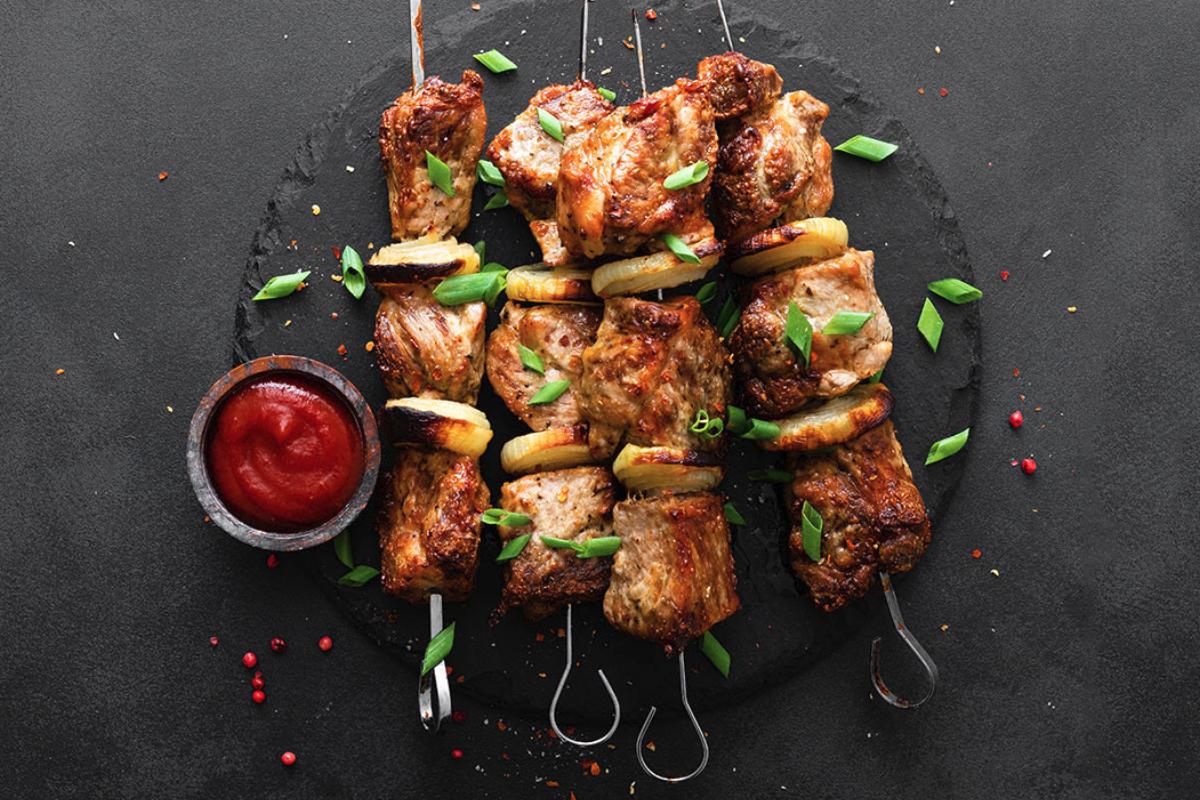 Future Meat Technologies kebabs