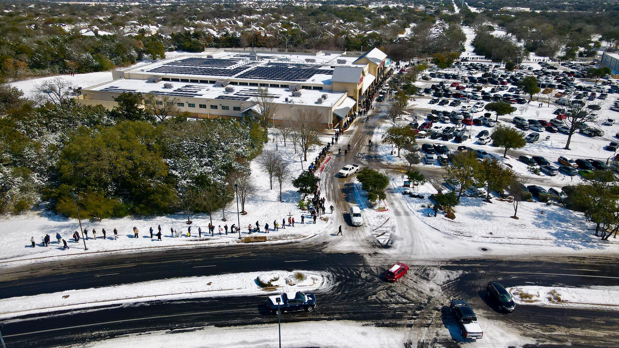Austin winter storm