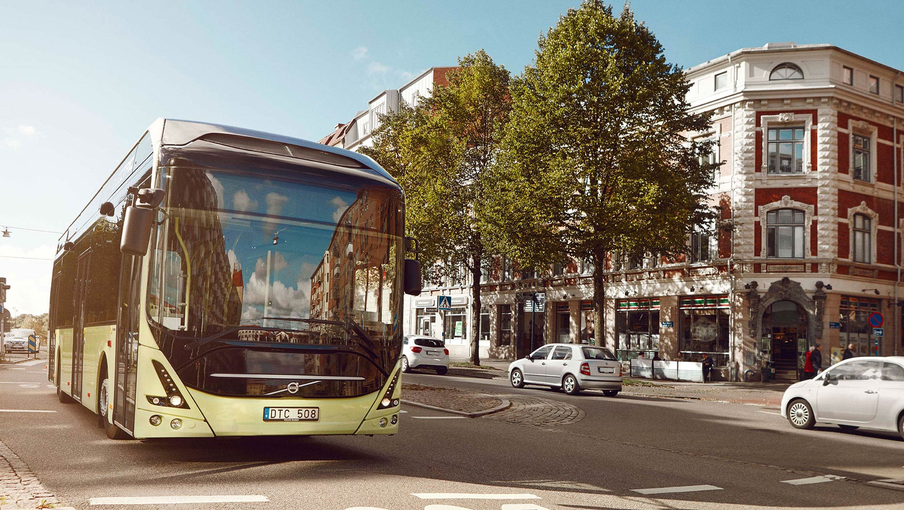 Transdev 7900 electric buses Courtesy of AB Volvo