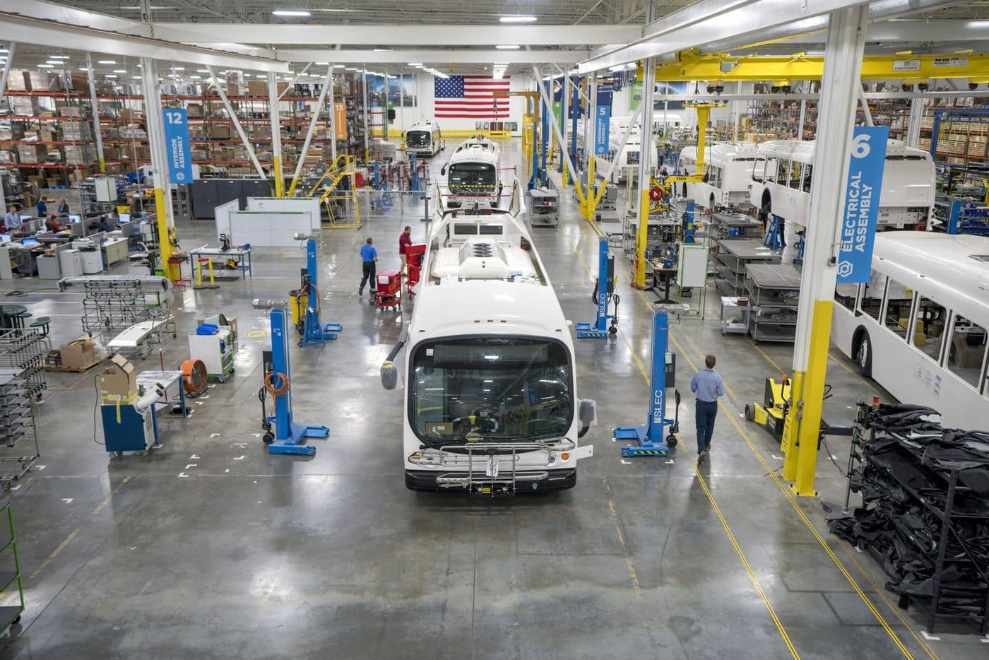 Proterra bus facility