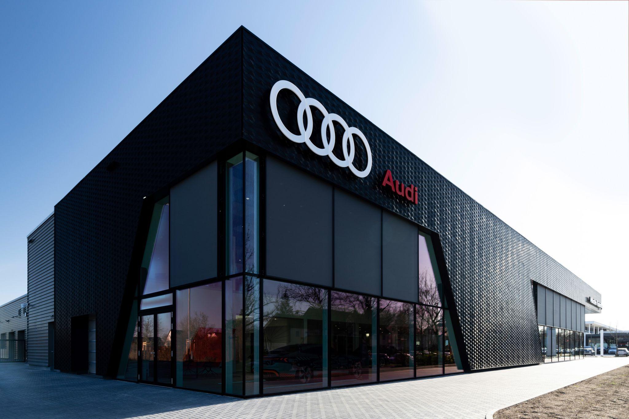 Made of Air Audi building facade