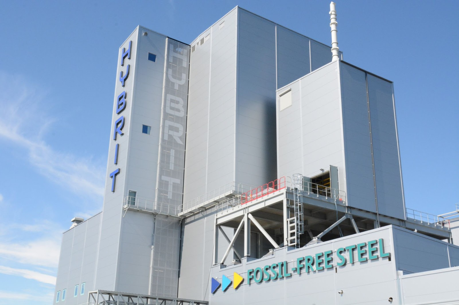 Hybrit steel plant