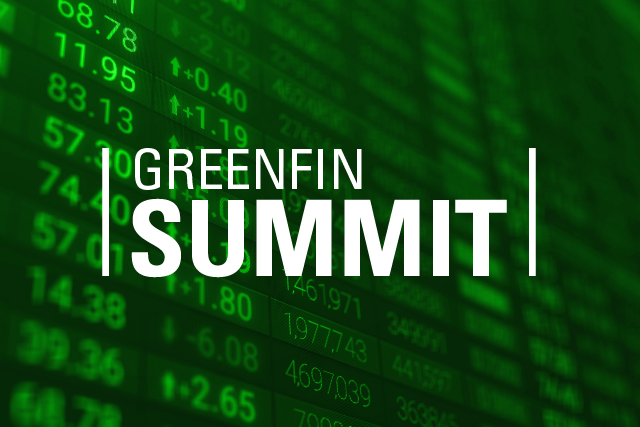 GreenBiz 19 GreenFin Summit