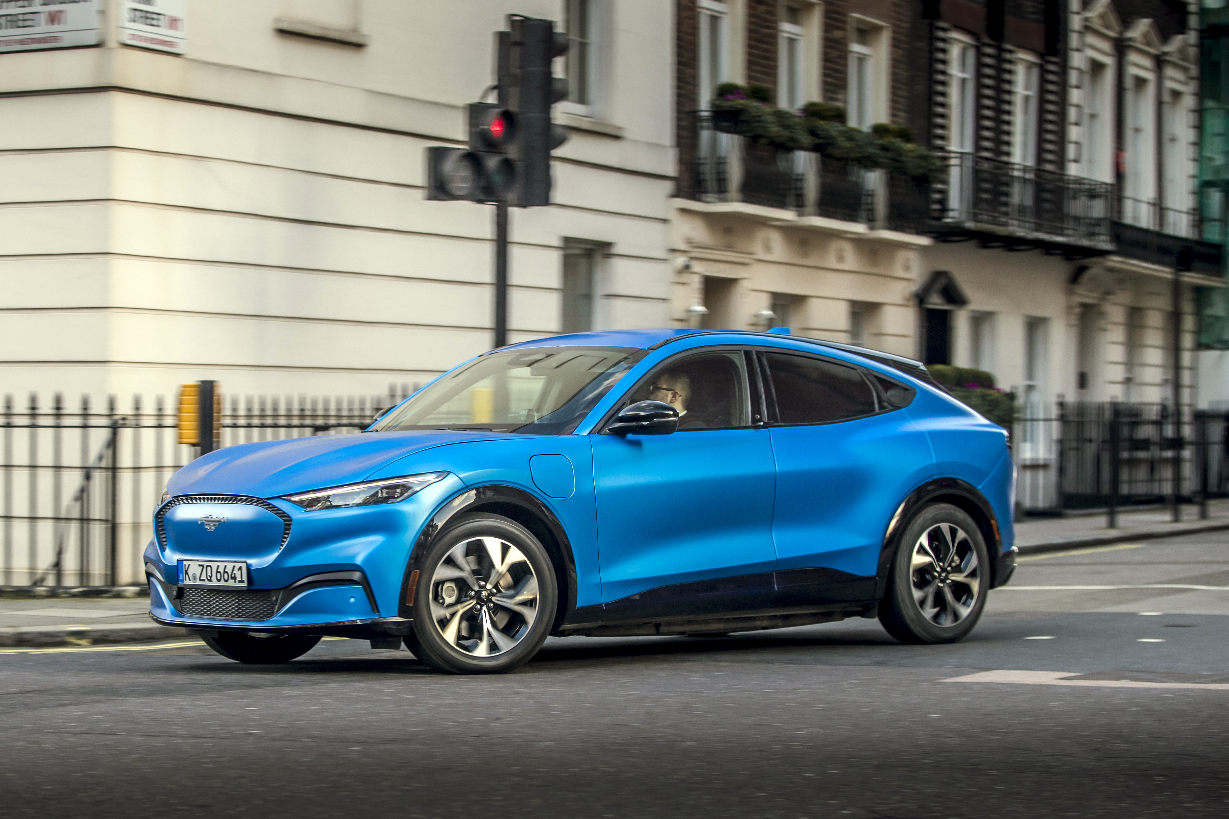 Ford's electric car the Mustang Mach-E SUV