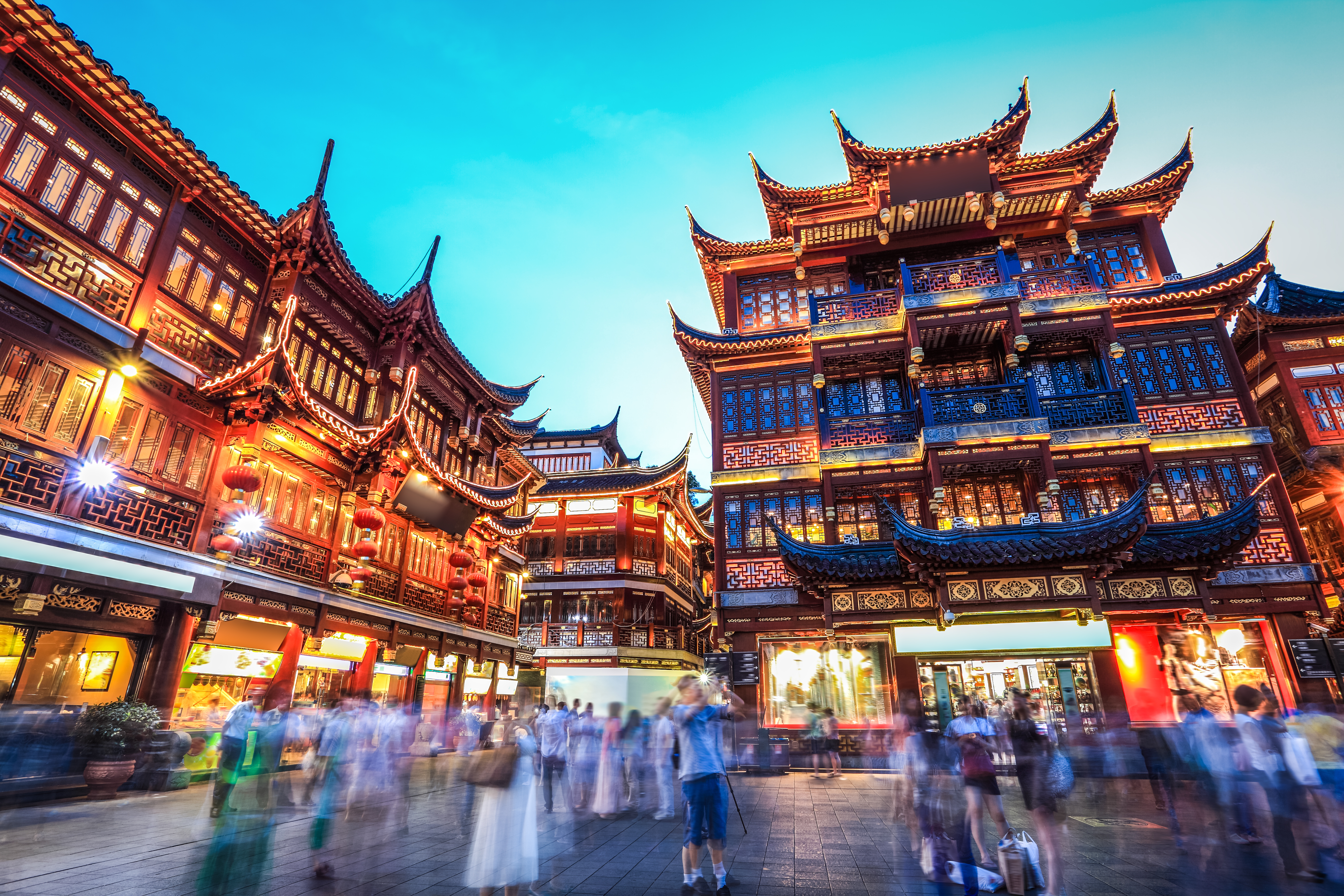 Leisure destinations,activities and places in Asia