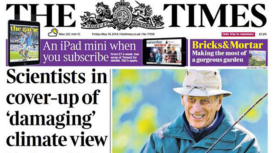 Rupert Murdoch's News UK is leading media against climate change featured image