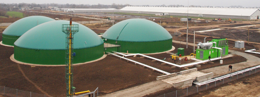 Ukrainian Milk Co. Biogas Plant