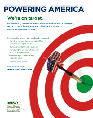 Energy Awareness Month promo materials