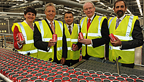 Coca-Cola HBC plant in Northern Ireland