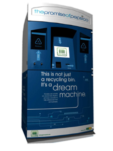 pepsico recycling machine