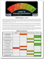 Guide to Greener Electronics cover
