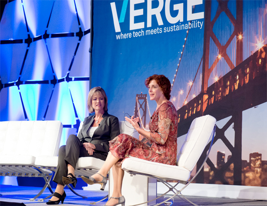 A keynote interview between Trisa Thompson of Dell and Heather Clancy of GreenBiz.