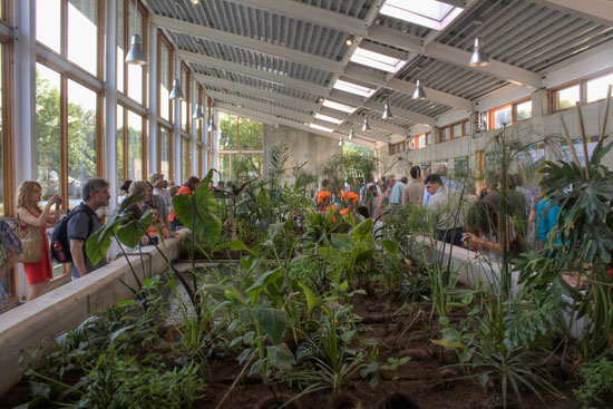 Omega Center greenhouse