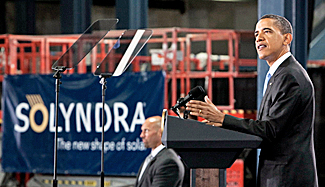 President Obama at Solyndra.