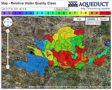 Click on image to access the Water Risk Atlas.
