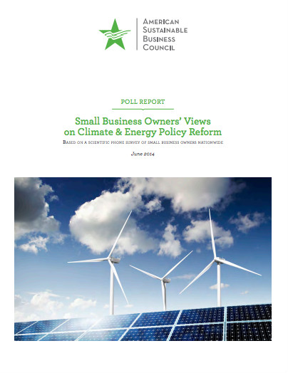 ASBC report on small businesses and climate change
