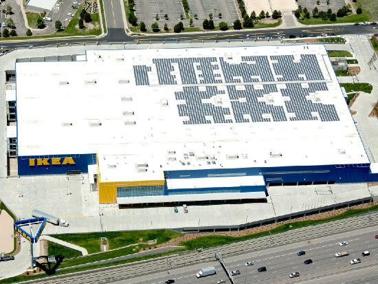 Behind ikea 39 s coast to coast push for solar greenbiz for Ikea outlet charlotte nc