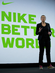 Hannah Jones, vice president of sustainable innovation at Nike, discusses the company's Olympic innovations.