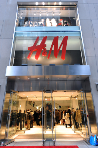 H&M storefront image courtesy of H&M.