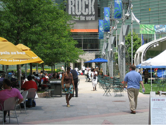 Campus Martius image by jodelli via Flickr