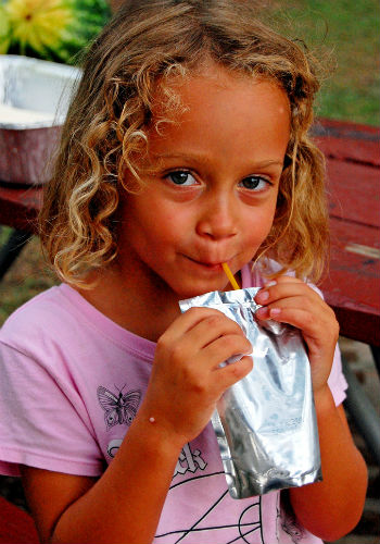 Capri Sun kid image by Jamie via Flickr