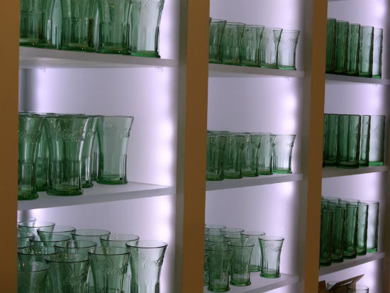 Coke glasses in store image by GollyGForce via Flickr