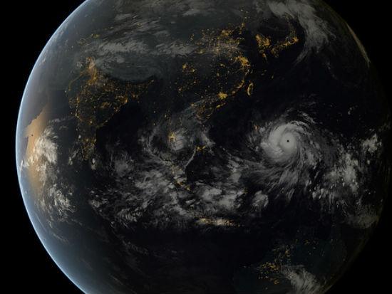 Haiyan image by NASA Goddard Space Flight Center