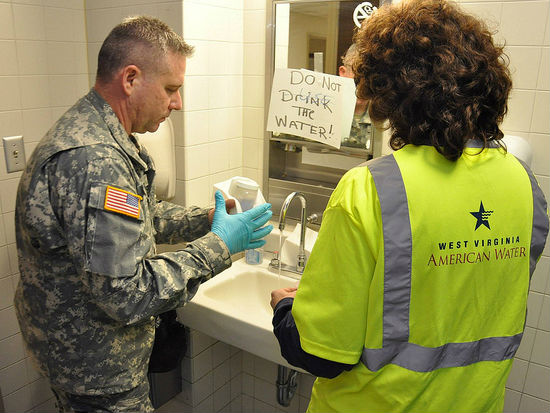 Do not drink image by West Virginia National Guard via Flickr.