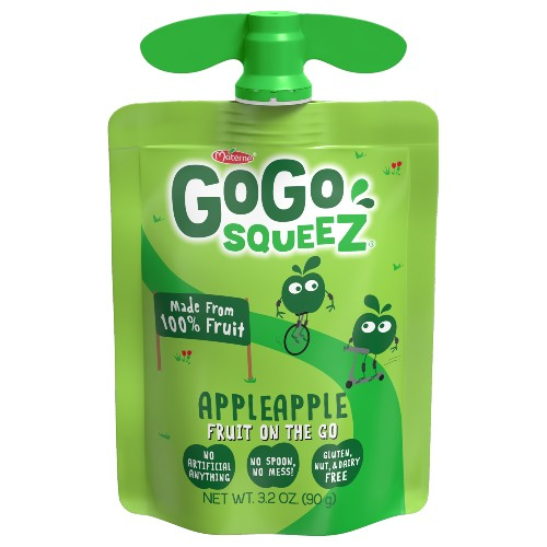 The new GoGo Squeez pouch