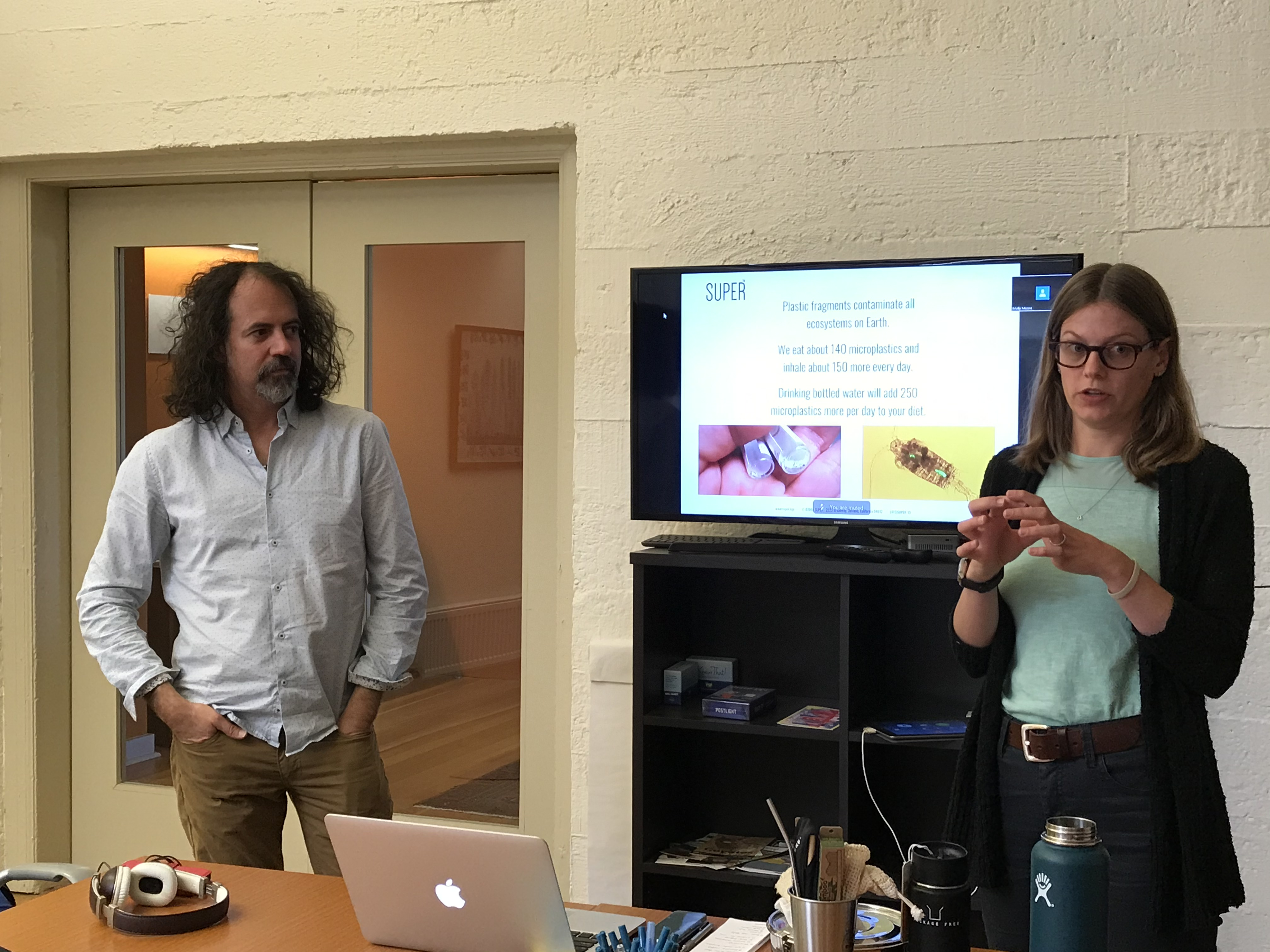 Manuel Maqueda and Molly Moore present the SUPER workshop