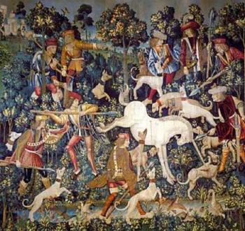 hunting of the unicorn detail