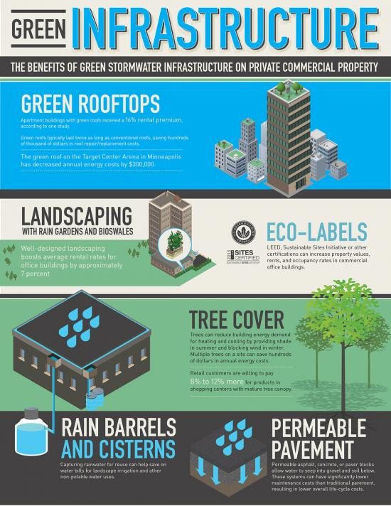 Technology Management Image: Why Green Infrastructure Is A Savvy Business Investment