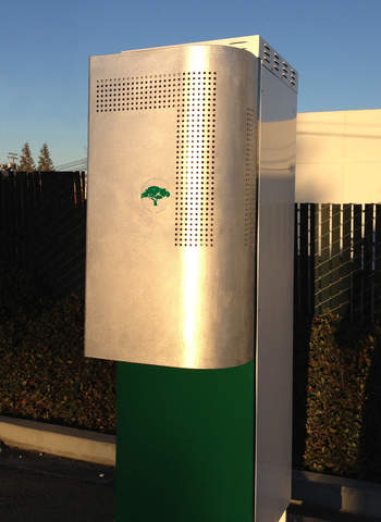 GreenStation image courtesy of Green Charge